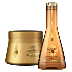 Duo Shampooing et Masque Mythic Oil Cheveux Fins