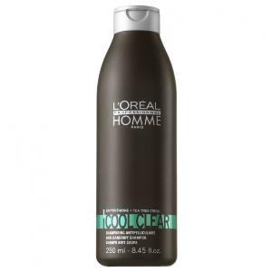 Shamp Cool Clear L'Oreal Hommes