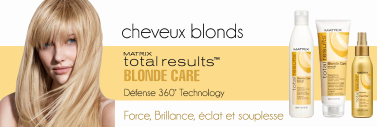 Blonde Care Matrix Total Results