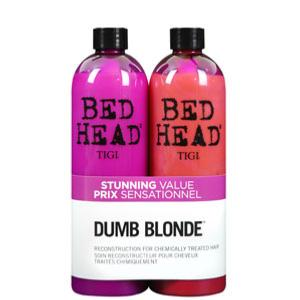 Duo Tigi Dumb Blond : Shamp 750ml + Soin 750ml