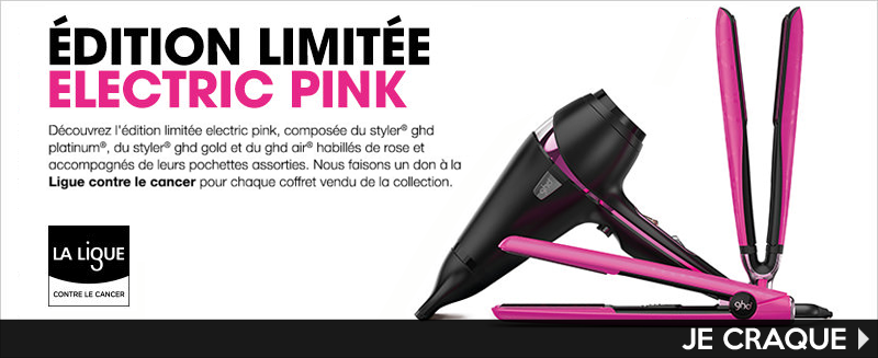 ghd electric pink