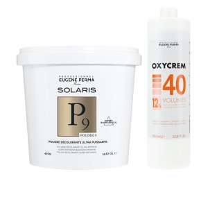 Pack Decoloration Solaris P9 Oxycrem 40 Vol