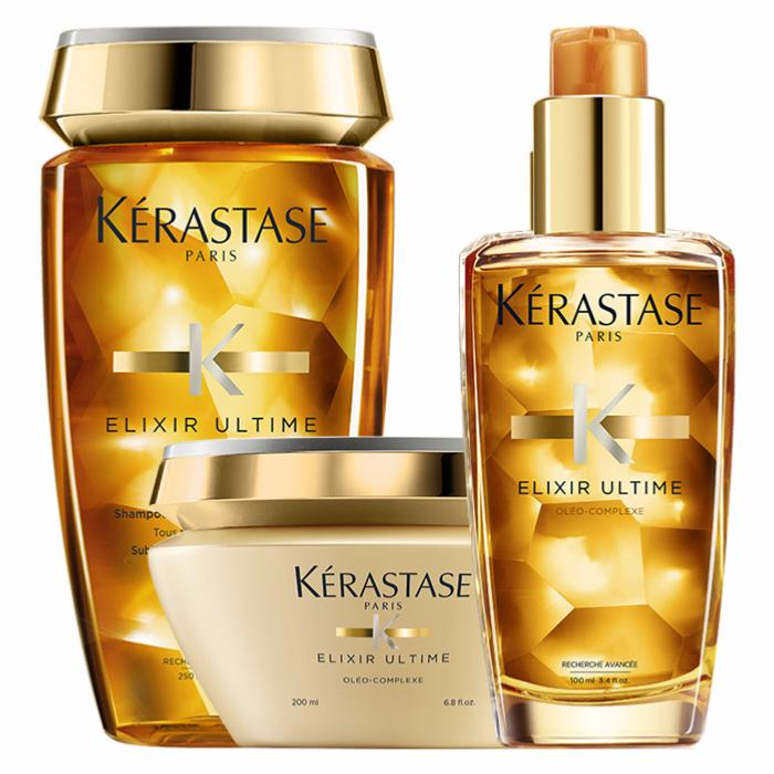 elixir ultime kerastase gestuelle 1 2 3. Black Bedroom Furniture Sets. Home Design Ideas