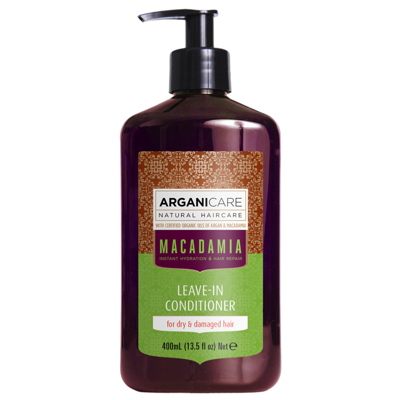 soin sans rin age argan et macadamia 400ml arganicare. Black Bedroom Furniture Sets. Home Design Ideas