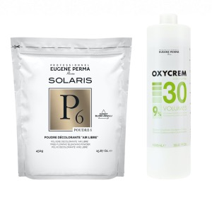 Pack Decoloration Solaris P6 Oxycrem 30 Vol
