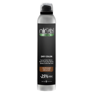 Dry Color Nirvel 300ml - Chatain Foncé