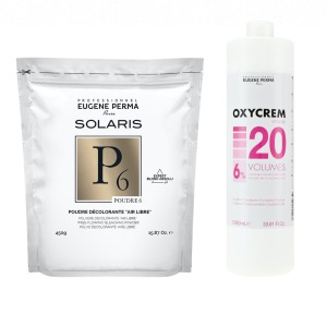 Pack Decoloration Solaris P6 Oxycrem 20 vol