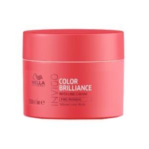 Masque Color Brilliance Cheveux Fins Invigo Wella 150ml