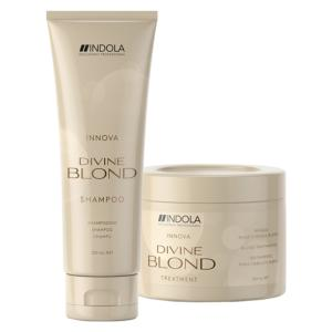 Duo Shampooing et Masque Divine Blond Indola