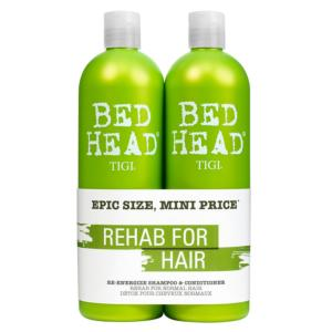 Duo Tigi Re-energize : Shamp 750ml + Soin 750ml