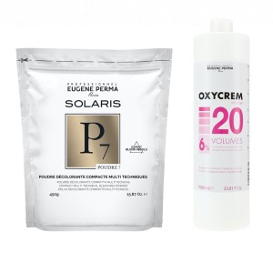 Pack Decoloration Solaris P7 Oxycrem 20 Vol
