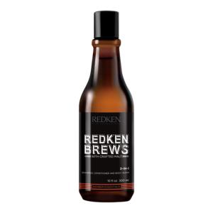 Shampooing 3 In 1 Redken Brews 300ml