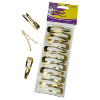 Barrettes Clip Gold (Or)