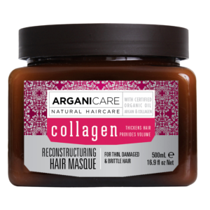 Masque Argan et Collagen 500ml - Arganicare