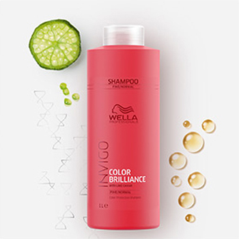 shampooing color brillance invigo wella