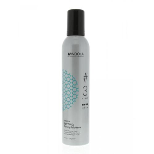 Mousse Fixation Forte Indola 300ml