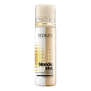 Custom-Tone Gold Blonde Idol Redken
