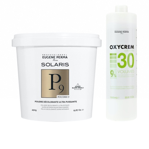 Pack Decoloration Solaris P9 Oxycrem 30 Vol