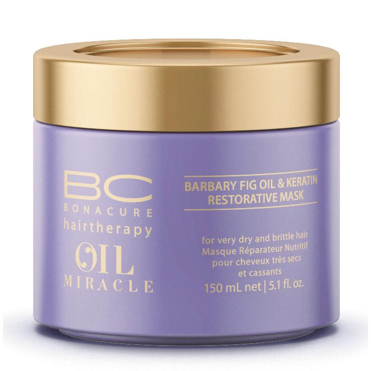 masque oil miracle barbary fig keratine 150ml bonacure schwarzkopf. Black Bedroom Furniture Sets. Home Design Ideas