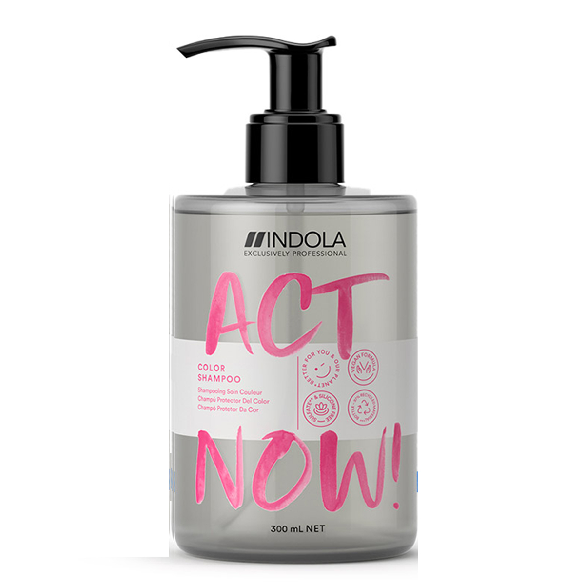 Shampooing Soin Couleur Act Now Indola 300ml
