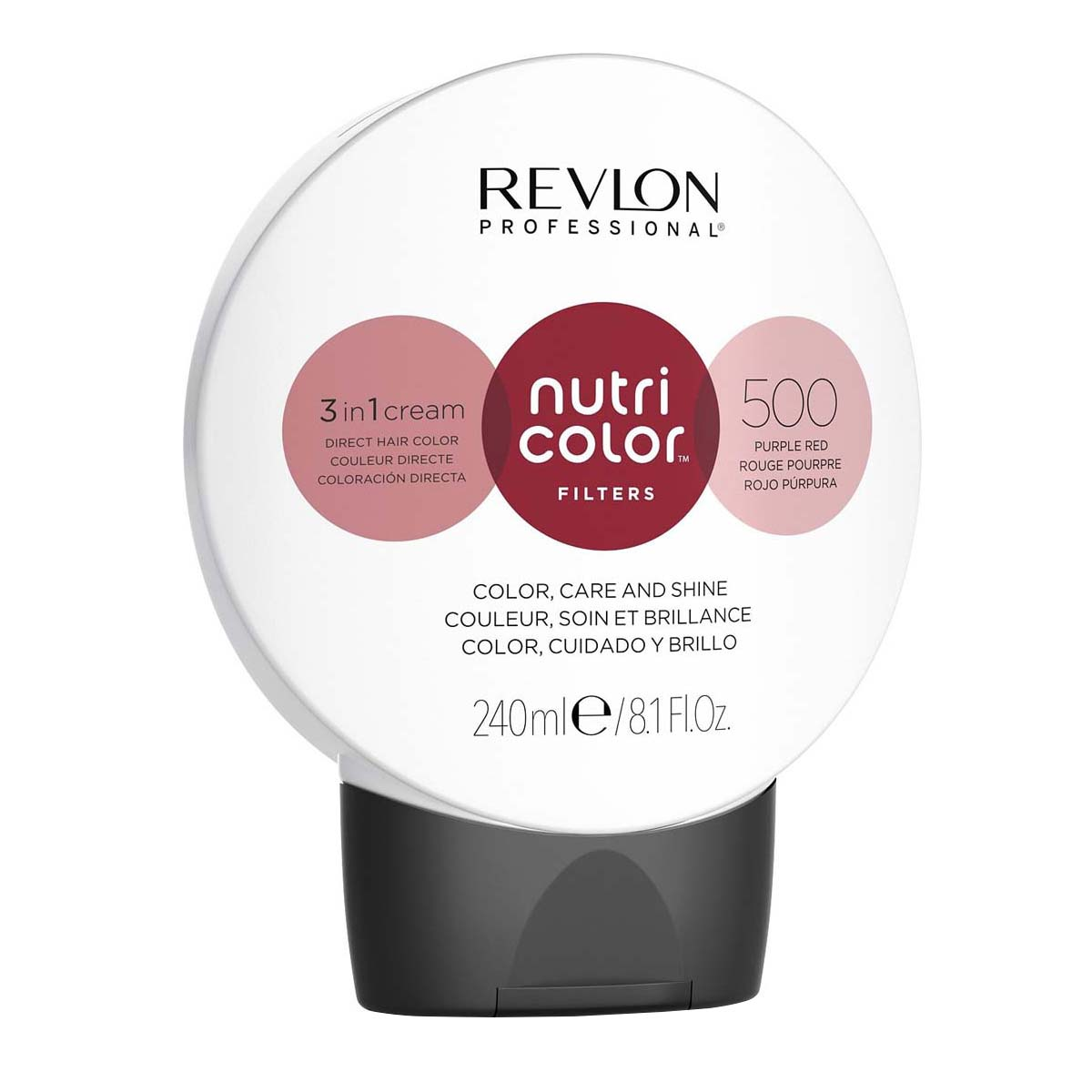 Nutri Color Filters 240ml - 500 Rouge Pourpre