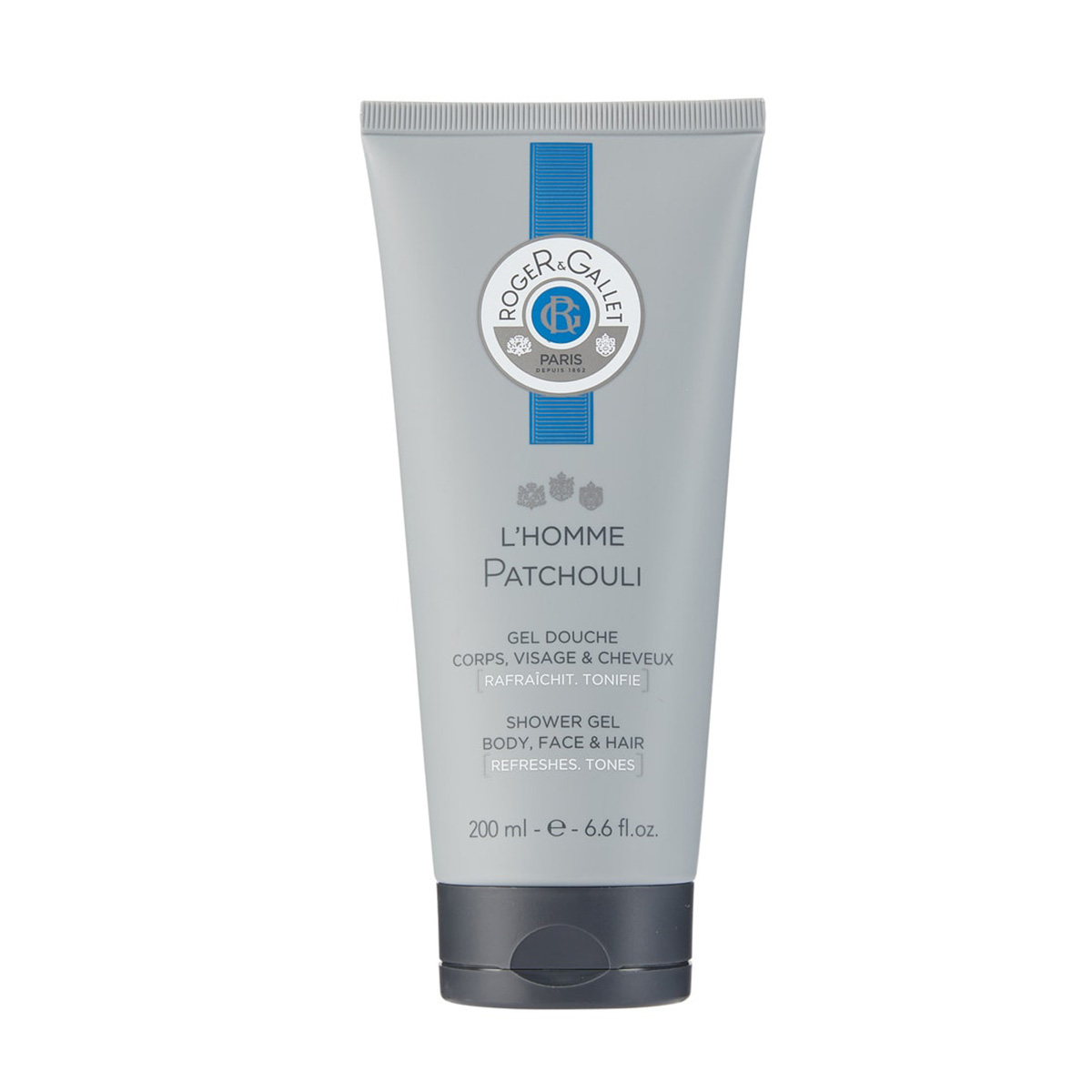 Gel Douche l'Homme Patchouli Roger Gallet - 200ml