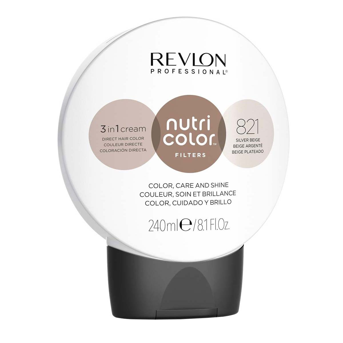 Nutri Color Filters 240ml - 821 Beige Argenté