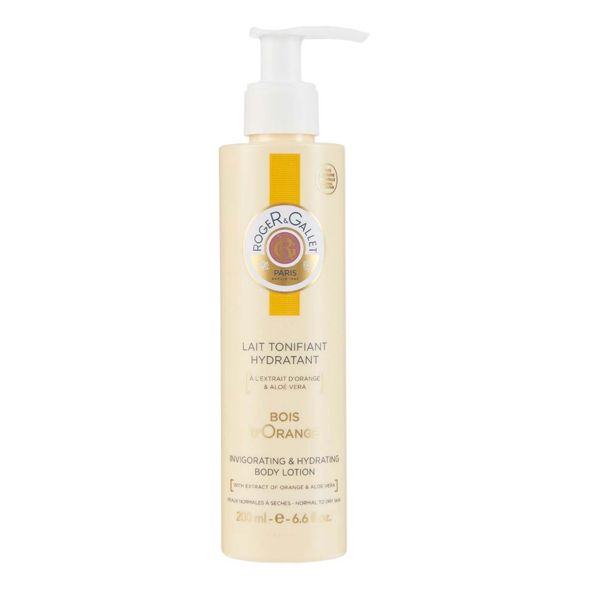 Lait Corps Tonifiant Hydratant Bois d'Orange Roger Gallet - 200ml