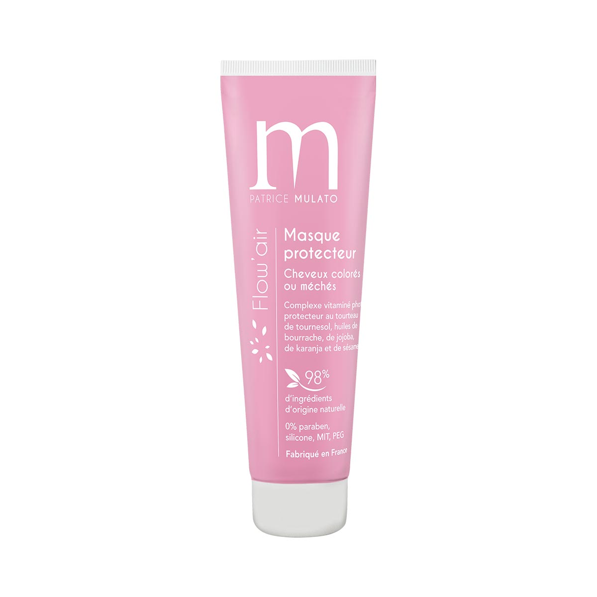 Masque Protecteur Cheveux Colorés Flow Air Mulato 30ml