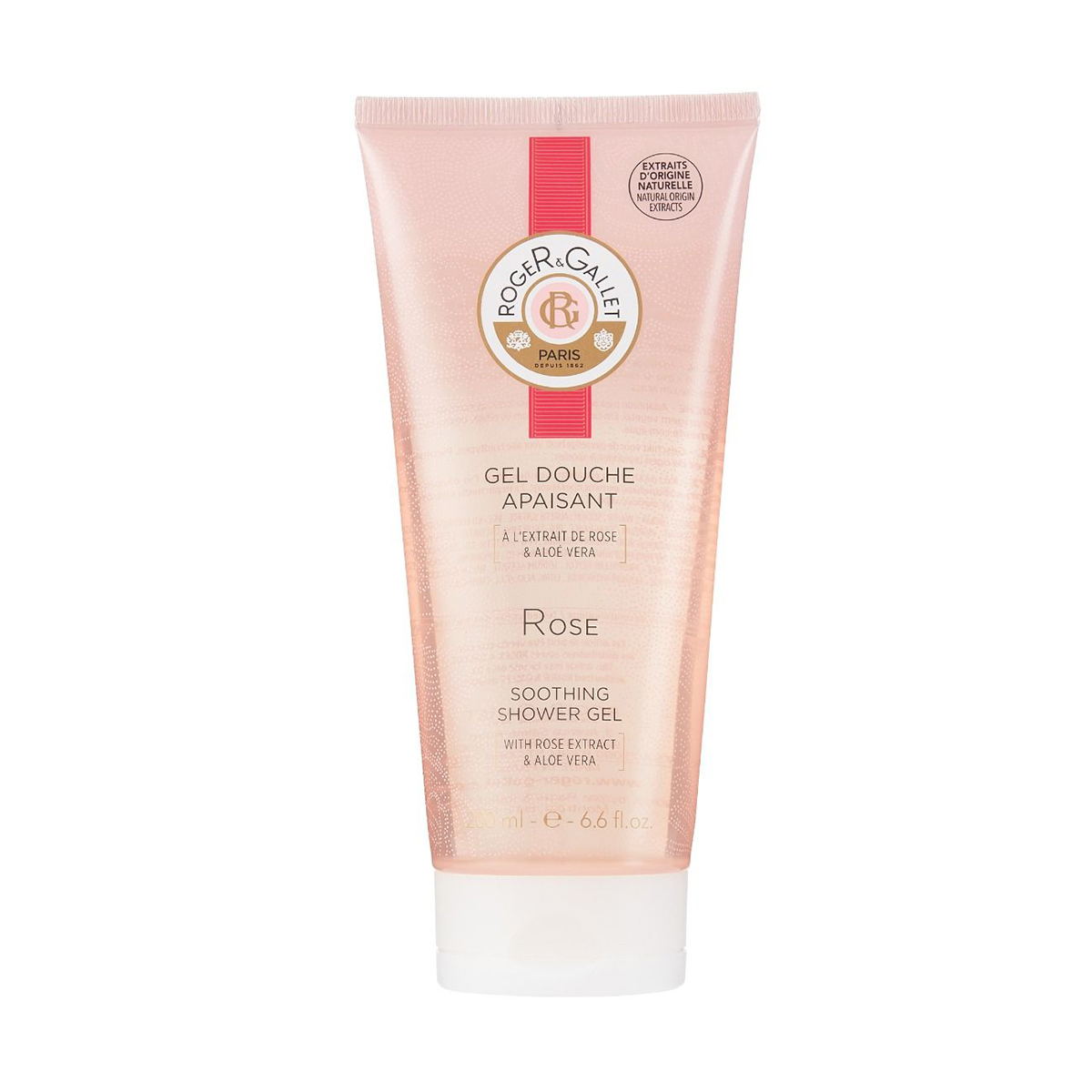 Gel Douche Apaisante Rose Roger Gallet - 200ml