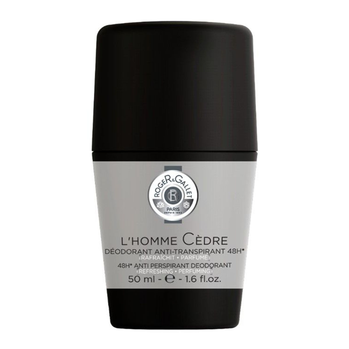 Déodorant Roll-on l'Homme Cèdre Roger Gallet - 50ml