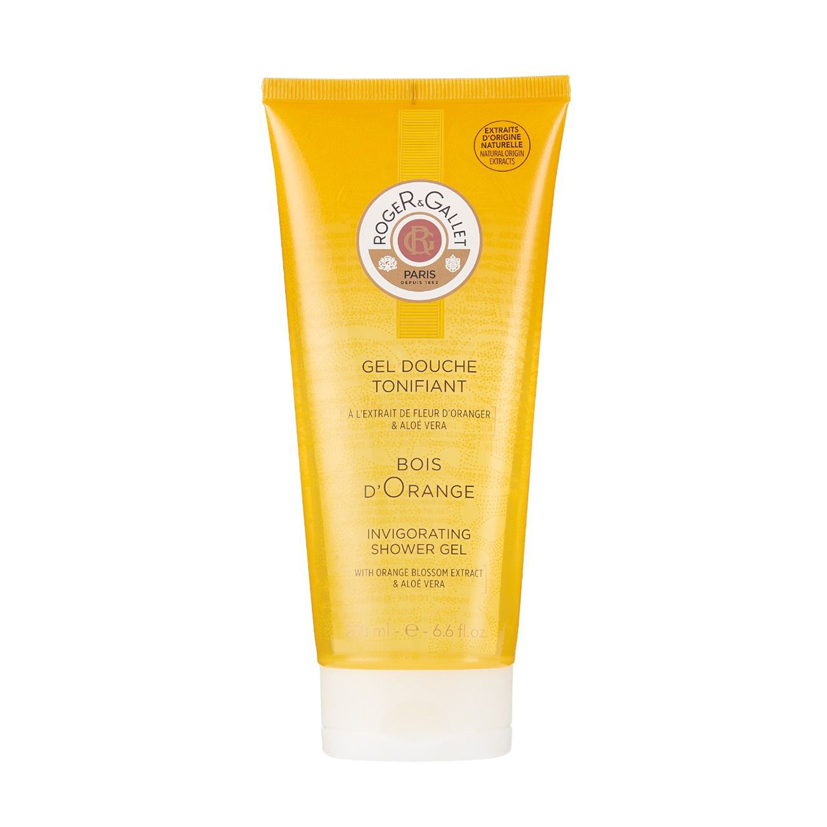 Gel Douche Tonifiant Bois d'Orange Roger Gallet - 200ml
