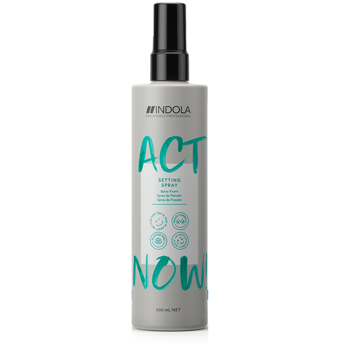 Spray Fixant Act Now Indola 200ml
