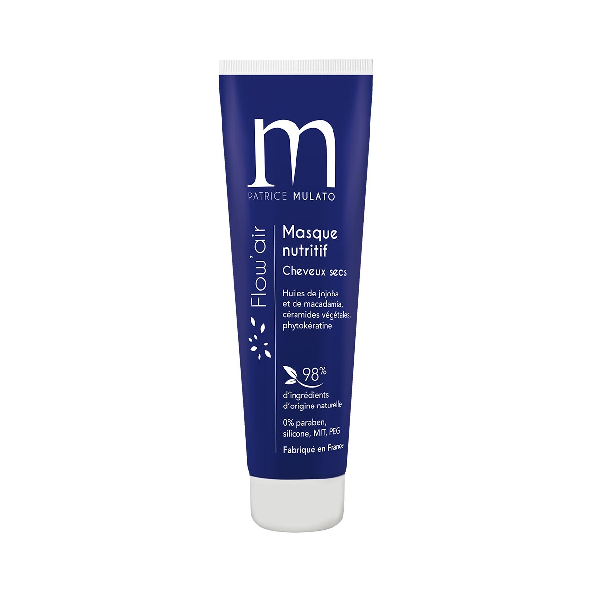 Masque Nutritif Cheveux Secs Flow Air Mulato 30ml