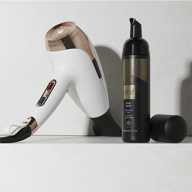 Mousse Total Volume Body Goals GHD 120ml