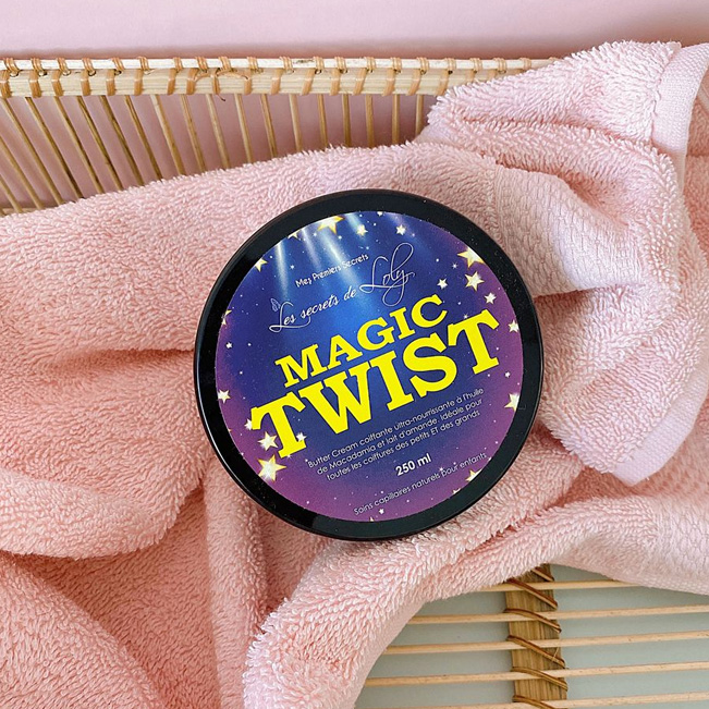 Crème Coiffante Magic Twist Les Secrets de Loly 250ml