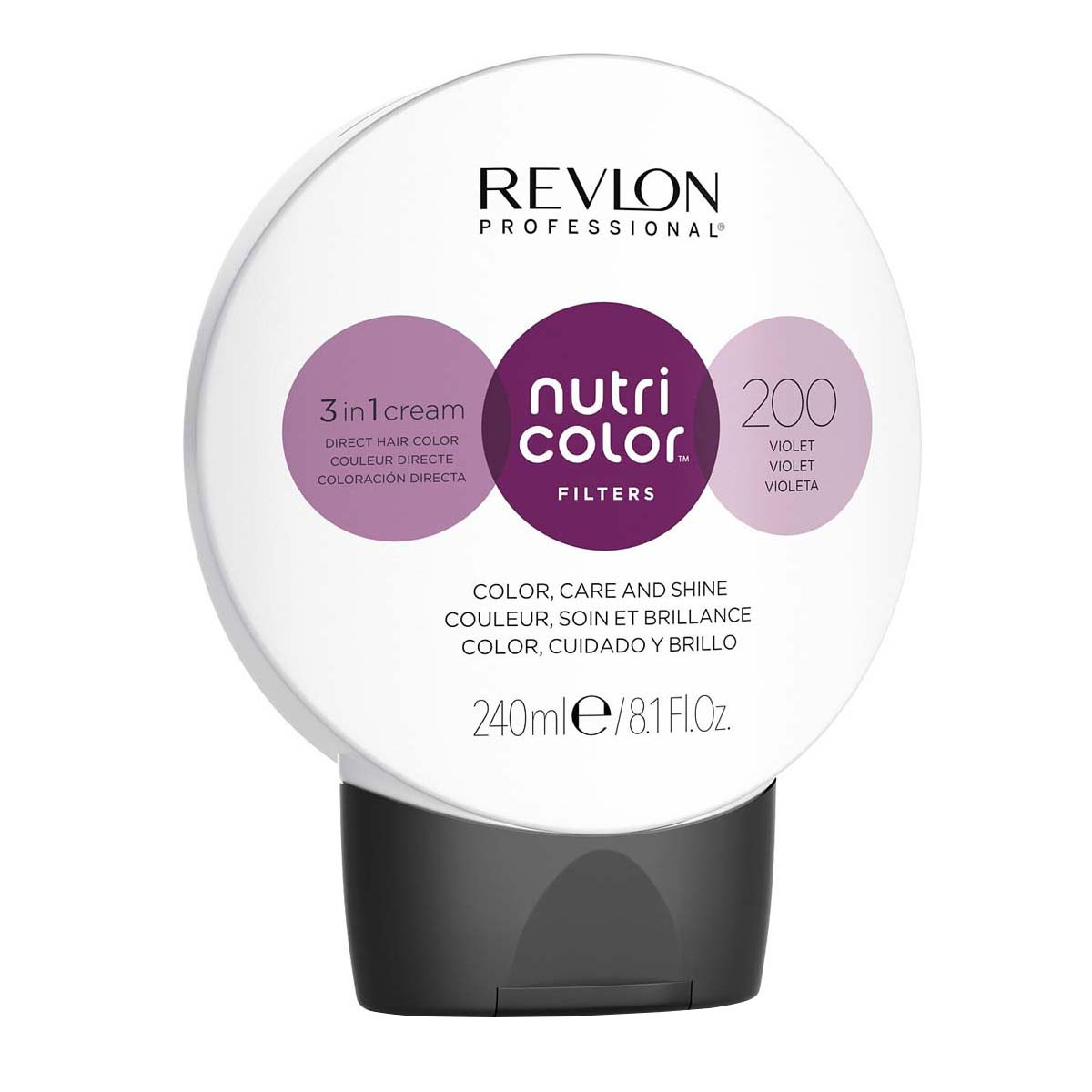 Nutri Color Filters 240ml - 200 Violet