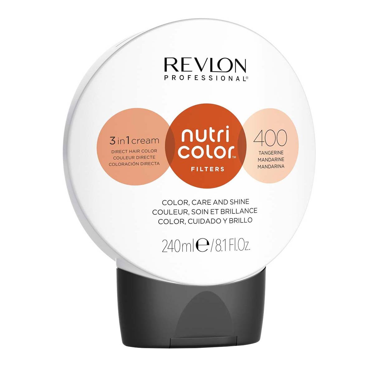 Nutri Color Filters 240ml - 400 Mandarine