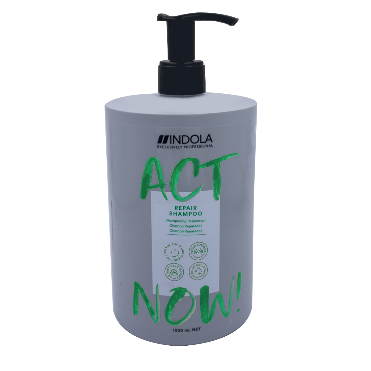 Shampooing Réparateur Act Now Indola 1000ml
